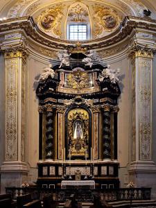 Altare della beata vergine della pieta.