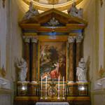 Terza Cappella di destra - Santissima Trinità e San Gregorio Barbarigo.
