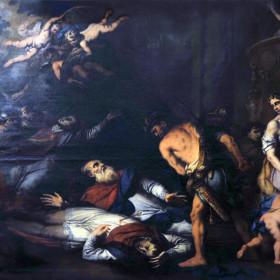Martirio di San Giacomo e dei 40 Canonici Pierpaolo Raggi.