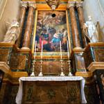 Pala d'altare Santi Pietro e Paolo.