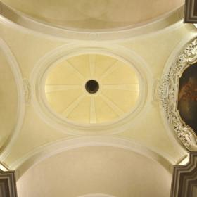 Particolare volta cappella di San Vincenzo.