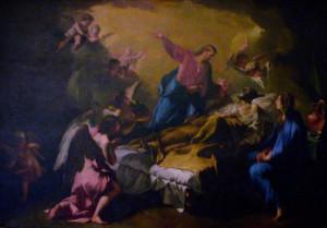 Transito di San Giuseppe di Francesco Polazzo.
