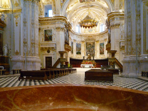 Veduta dell'interno della Cattedrale.