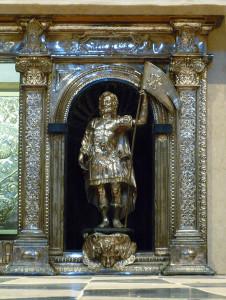 Particolare dell'altare Sant'Alessandro.