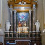 Prima Cappella di sinistra - Santa Caterina d'Alessandria e San Girolamo.
