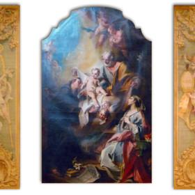 San Giuseppe con Bambino e Santi Adleide e Antonio da Padova di Carlo Innocenzo Carloni.