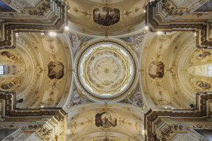 Veduta interna Cupola del Coghetti.